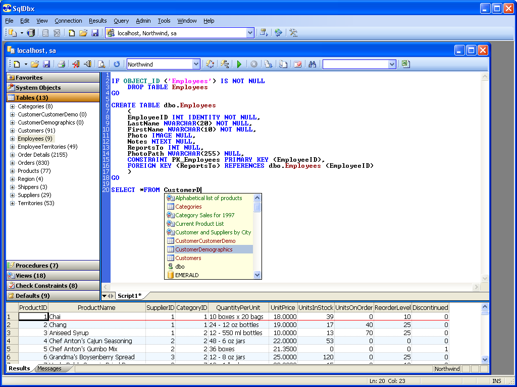 Windows 7 SqlDbx Personal 4.17 full